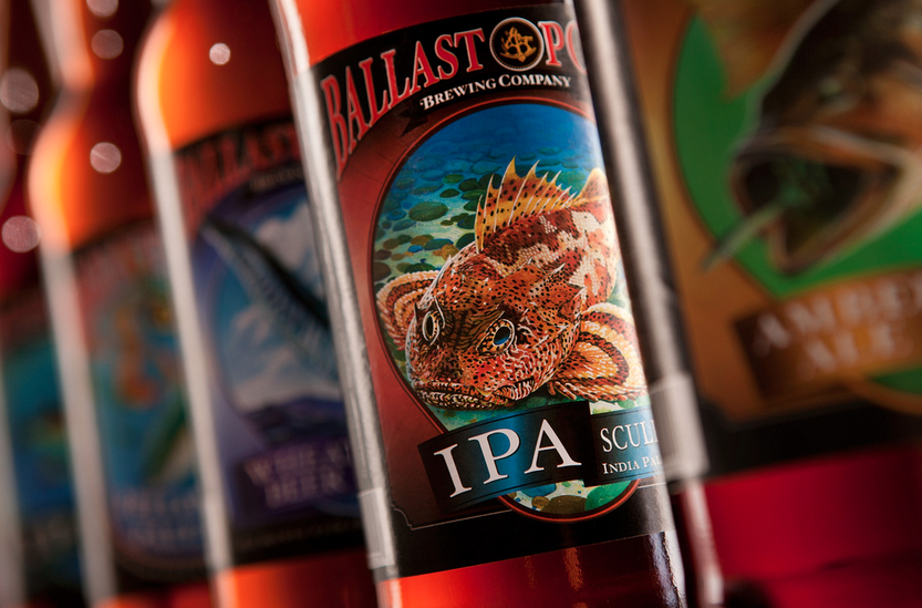 Ballast Point Sculpin, photo courtesy of Paul Body