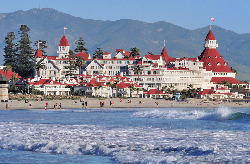 Hotel del Coronado, courtesy of Brett Shoaf, Artistic Visuals