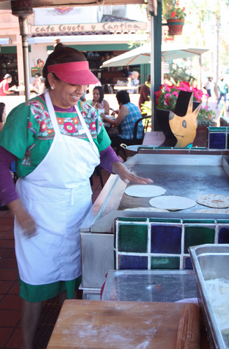 Old Town Tortilla Stand. Photo credit: SanDiego.org