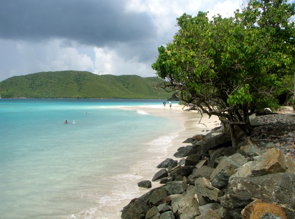 Cinnamon Bay Beach. Photo credit: St. John Tour