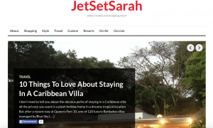 travel blogs Jet Set Sarah