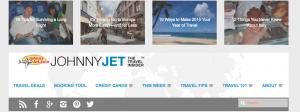 travel blogs Johnny Jet